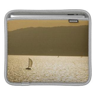 Sailboat at Mediterranean Sea iPad Sleeve