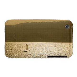 Sailboat at Mediterranean Sea iPhone 3 Case-Mate Cases
