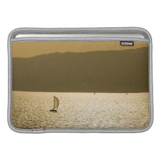 Sailboat at Mediterranean Sea MacBook Sleeve