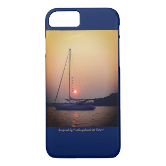 Sailboat at Sunset iPhone7/iPad case