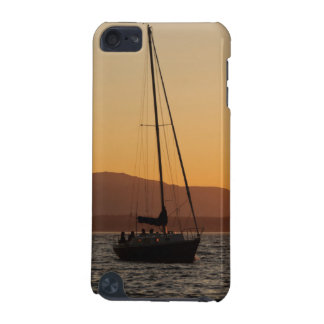 Sailboat At Sunset On The Puget Sound iPod Touch (5th Generation) Covers