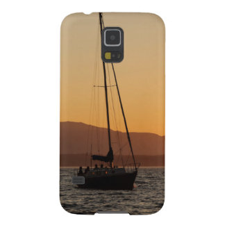 Sailboat At Sunset On The Puget Sound Galaxy S5 Cover