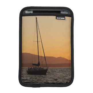 Sailboat At Sunset On The Puget Sound iPad Mini Sleeve