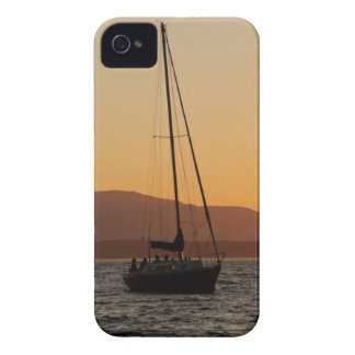 Sailboat At Sunset On The Puget Sound iPhone 4 Case