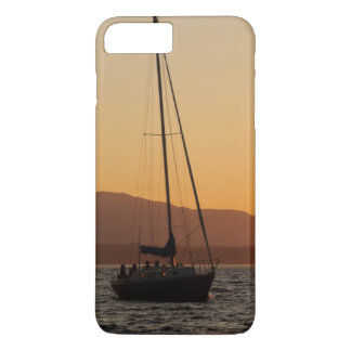 Sailboat At Sunset On The Puget Sound iPhone 8 Plus/7 Plus Case