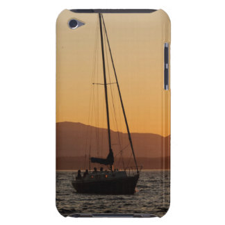 Sailboat At Sunset On The Puget Sound iPod Touch Covers
