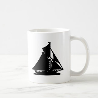 Sailboat Black lg-transp Vero Beach The MUSEUM Zaz Basic White Mug