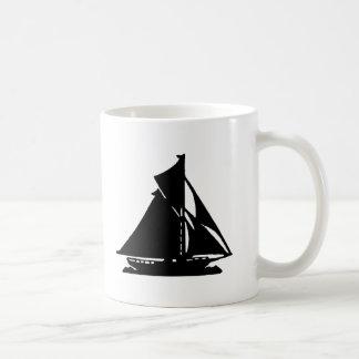 Sailboat Black lg-transp Vero Beach The MUSEUM Zaz Coffee Mug