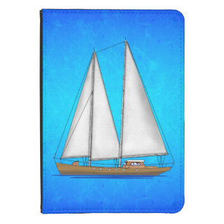 Sailboat Blue Waters Kindle Touch Cover