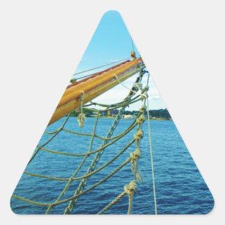 Sailboat Bow Triangle Sticker