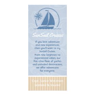Sailboat Breeze Customised Rack Card