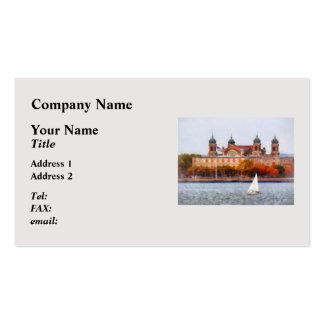Sailboat by Ellis Island Pack Of Standard Business Cards