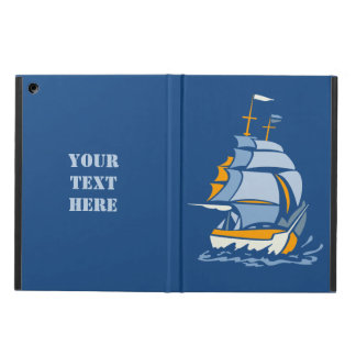Sailboat custom monogram cases