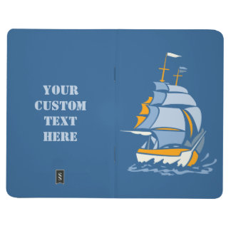 Sailboat custom pocket journal