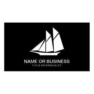 sailboat icon pack of standard business cards