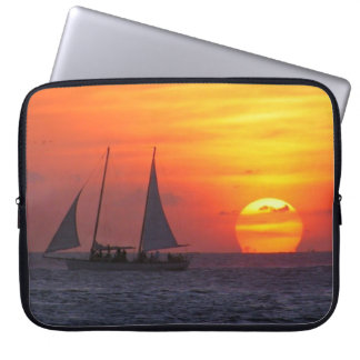 Sailboat In The Sunset Laptop Sleeve