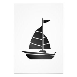 Sailboat Personalized Invitation