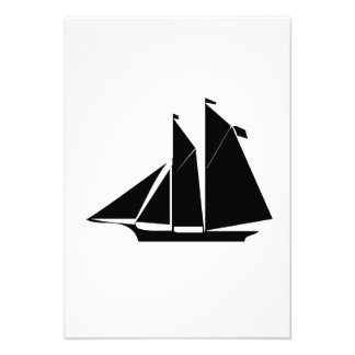 Sailboat Personalized Announcements