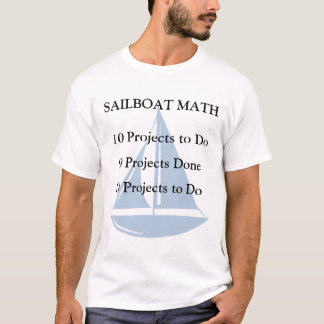 Sailboat Math T-Shirt