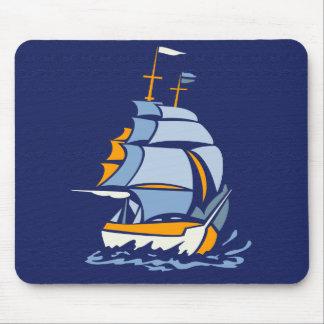 Sailboat mousepad, customizable mouse mat