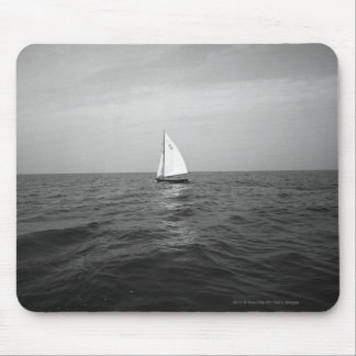 Sailboat on ocean mouse mat