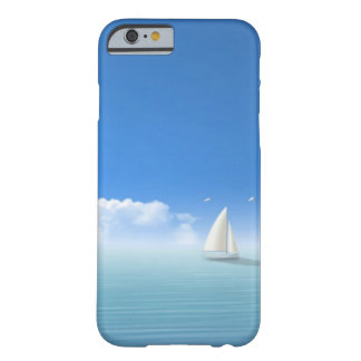 sailboat on the horizon barely there iPhone 6 case