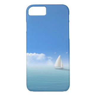 sailboat on the horizon iPhone 7 case