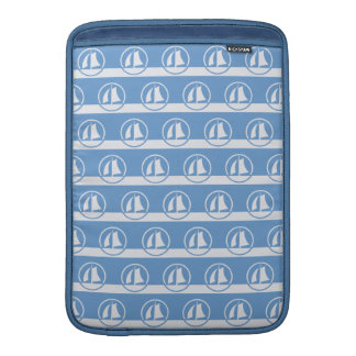 "Sailboat pattern custom color 13"" sleeve"