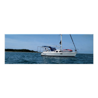 Sailboat poster for home or office