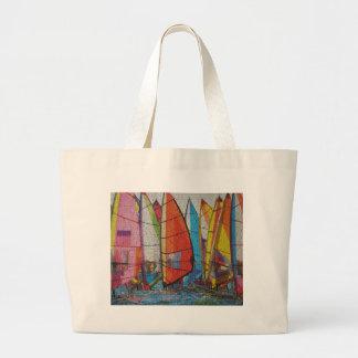 Sailboat Puzzle Pic Bags