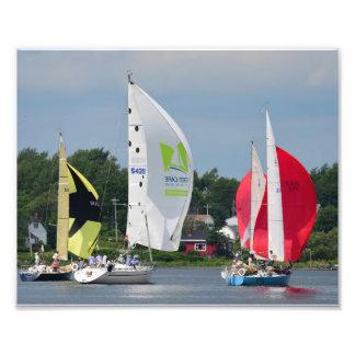 Sailboat Race Photo Print
