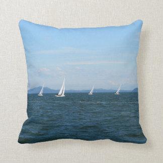 Sailboat Races Cushion