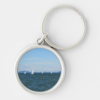 Sailboat Races Key Ring