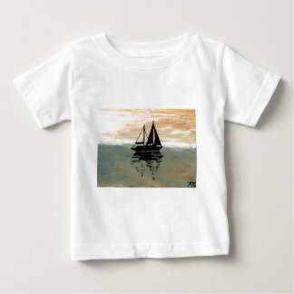 SailBoat Reflections CricketDiane Ocean Stuff Baby T-Shirt
