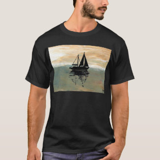 SailBoat Reflections CricketDiane Ocean Stuff T-Shirt