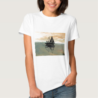 SailBoat Reflections CricketDiane Ocean Stuff T Shirts