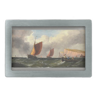 Sailboat Sailing Boats Ocean Seas Mens Belt Buckle