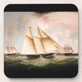 Sailboat Sailing Ship Ocean Boat Seas Coaster