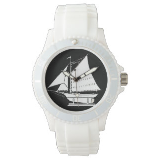 sailboat silhouette watch