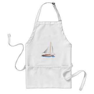 Sailboat Smooth Sailing Standard Apron