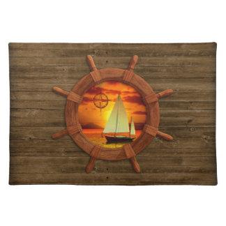 Sailboat Sunset Placemat