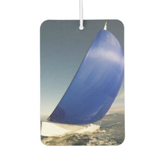 Sailboat Tipping In Wind Car Air Freshener