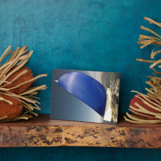 Sailboat Tipping In Wind Photo Plaque
