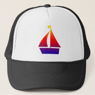 Sailboat Trucker Hat