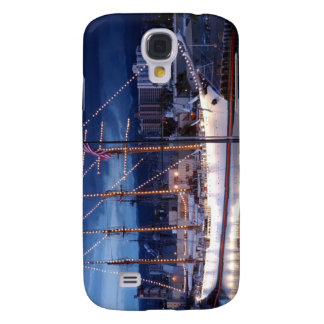 Sailboat with Decorative Lights Galaxy S4 Case
