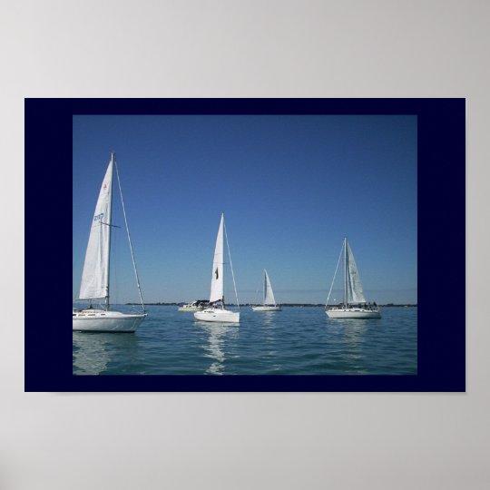 sailboats2 poster