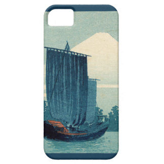 Sailboats and Mount Fuji iPhone 5 Case