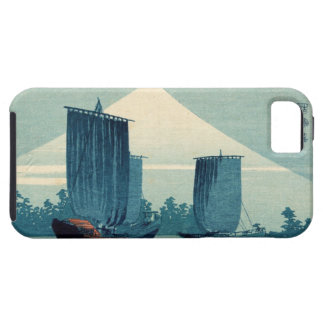 Sailboats and Mount Fuji iPhone 5 Case-Mate Case iPhone 5 Cases