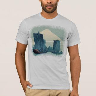 Sailboats and Mount Fuji T-Shirt