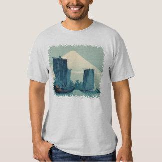 Sailboats and Mount Fuji Tshirts